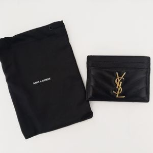 Yves Saint Laurent Monogram Cardholder